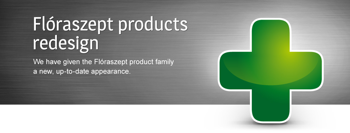 Flóraszept products redesign